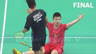 【Video】Anthony Sinisuka GINTING VS QIAO Bin, E-Plus Badminton Asia Team Championships 2018 other