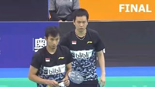 【Video】Rian Agung SAPUTRO・Hendra SETIAWAN VS HAN Chengkai・ZHOU Haodong, E-Plus Badminton Asia Team Championships 2018 other