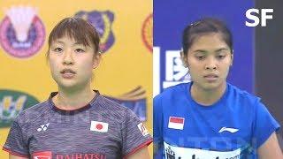 【Video】Nozomi OKUHARA VS Gregoria Mariska TUNJUNG, E-Plus Badminton Asia Team Championships 2018 other