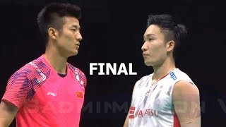 【Video】Kento MOMOTA VS CHEN Long, Badminton Asia Championships 2018 finals