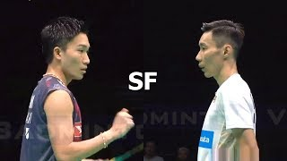 【Video】Kento MOMOTA VS LEE Chong Wei, Badminton Asia Championships 2018 semifinal