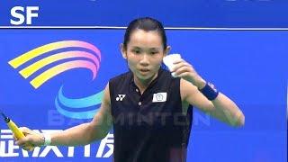 【Video】TAI Tzu Ying VS Saina NEHWAL, Badminton Asia Championships 2018 semifinal