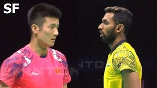 【Video】CHEN Long VS PRANNOY H. S., Badminton Asia Championships 2018 semifinal