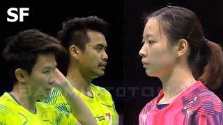 【Video】Tontowi AHMAD・Liliyana NATSIR VS ZHENG Siwei・HUANG Yaqiong, Badminton Asia Championships 2018 semifinal