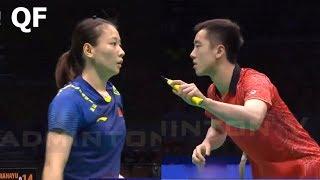 【Video】ZHENG Siwei・HUANG Yaqiong VS TANG Chun Man・TSE Ying Suet, Badminton Asia Championships 2018 quarter finals