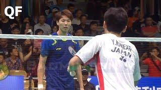 【Video】LI Junhui・LIU Yuchen VS Takuto INOUE・Yuki KANEKO, Badminton Asia Championships 2018 quarter finals