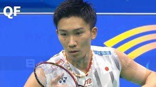 【Video】Kento MOMOTA VS CHOU Tien Chen, Badminton Asia Championships 2018 quarter finals