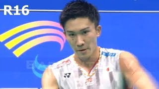 【Video】Kento MOMOTA VS SHI Yuqi, Badminton Asia Championships 2018 best 16