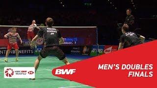【Video】Marcus Fernaldi GIDEON・Kevin Sanjaya SUKAMULJO VS Mathias BOE・Carsten MOGENSEN, YONEX All England Open 2018 finals