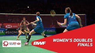 【Video】Kamilla Rytter JUHL・Christinna PEDERSEN VS Yuki FUKUSHIMA・Sayaka HIROTA, YONEX All England Open 2018 finals