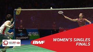 【Video】TAI Tzu Ying VS Akane YAMAGUCHI, YONEX All England Open 2018 finals