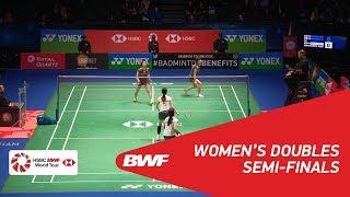 【Video】Yuki FUKUSHIMA・Sayaka HIROTA VS Shiho TANAKA・Koharu YONEMOTO, YONEX All England Open 2018 semifinal