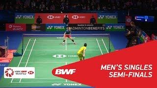 【Video】HUANG Yuxiang VS LIN Dan, YONEX All England Open 2018 semifinal