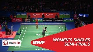 【Video】PUSARLA V. Sindhu VS Akane YAMAGUCHI, YONEX All England Open 2018 semifinal