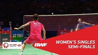 【Video】TAI Tzu Ying VS CHEN Yufei, YONEX All England Open 2018 semifinal