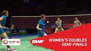 【Video】Kamilla Rytter JUHL・Christinna PEDERSEN VS Mayu MATSUMOTO・Wakana NAGAHARA, YONEX All England Open 2018 semifinal