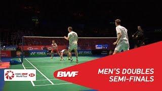 【Video】Marcus Fernaldi GIDEON・Kevin Sanjaya SUKAMULJO VS Mads CONRAD-PETERSEN・Mads Pieler KOLDING, YONEX All England Open 2018 s