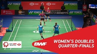 【Video】Kamilla Rytter JUHL・Christinna PEDERSEN VS LEE So Hee・SHIN Seung Chan, YONEX All England Open 2018 quarter finals