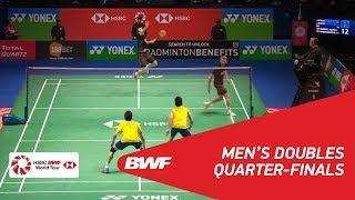 【Video】Mathias BOE・Carsten MOGENSEN VS GOH V Shem・TAN Wee Kiong, YONEX All England Open 2018 quarter finals
