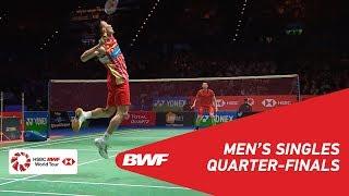 【Video】LIN Dan VS LEE Chong Wei, YONEX All England Open 2018 quarter finals
