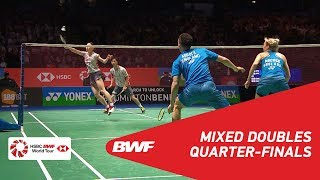 【Video】Yuta WATANABE・Arisa HIGASHINO VS Chris ADCOCK・Gabrielle ADCOCK, YONEX All England Open 2018 quarter finals