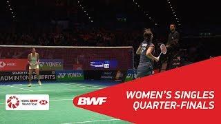 【Video】Nozomi OKUHARA VS PUSARLA V. Sindhu, YONEX All England Open 2018 quarter finals