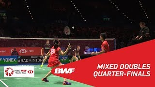 【Video】Mathias CHRISTIANSEN・Christinna PEDERSEN VS Praveen JORDAN・Debby SUSANTO, YONEX All England Open 2018 quarter finals