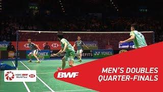 【Video】Marcus Fernaldi GIDEON・Kevin Sanjaya SUKAMULJO VS CHEN Hung Ling・WANG Chi-Lin, YONEX All England Open 2018 quarter finals
