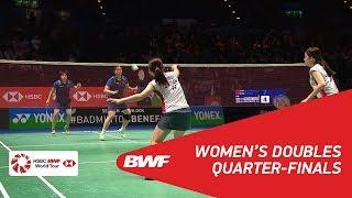 【Video】Shiho TANAKA・Koharu YONEMOTO VS CHEN Qingchen・JIA Yifan, YONEX All England Open 2018 quarter finals