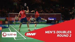 【Video】GOH V Shem・TAN Wee Kiong VS Marcus ELLIS・Chris LANGRIDGE, YONEX All England Open 2018 best 16