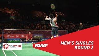 【Video】NG Ka Long Angus VS Kenta NISHIMOTO, YONEX All England Open 2018 best 16