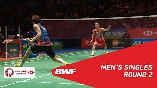【Video】LEE Dong Keun VS LEE Chong Wei, YONEX All England Open 2018 best 16