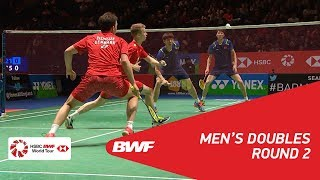【Video】LI Junhui・LIU Yuchen VS Kim ASTRUP・Anders Skaarup RASMUSSEN, YONEX All England Open 2018 best 16