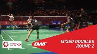 【Video】Praveen JORDAN・Debby SUSANTO VS Marcus ELLIS・Lauren SMITH, YONEX All England Open 2018 best 16