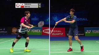 【Video】SON Wan Ho VS SHI Yuqi, YONEX All England Open 2018 semifinal