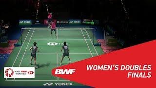 【Video】Yuki FUKUSHIMA・Sayaka HIROTA VS HUANG Dongping・YU Zheng, YONEX German Open 2018 finals