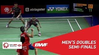 【Video】Takuto INOUE・Yuki KANEKO VS GOH V Shem・TAN Wee Kiong, YONEX German Open 2018 semifinal