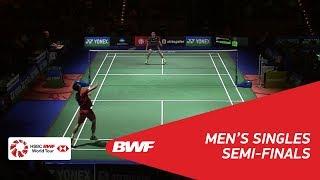 【Video】Kenta NISHIMOTO VS CHOU Tien Chen, YONEX German Open 2018 semifinal