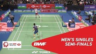 【Video】QIAO Bin VS CHOU Tien Chen, YONEX-SUNRISE DR. AKHILESH DAS GUPTA India Open 2018 semifinal