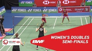 【Video】Greysia POLII・Apriyani RAHAYU VS Kamilla Rytter JUHL・Christinna PEDERSEN, YONEX-SUNRISE DR. AKHILESH DAS GUPTA India Open