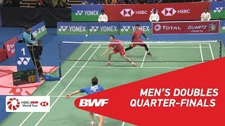 【Video】Kim ASTRUP・Anders Skaarup RASMUSSEN VS HE Jiting・TAN Qiang, YONEX-SUNRISE DR. AKHILESH DAS GUPTA India Open 2018 quarter