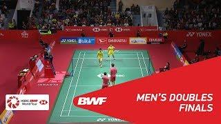 【Video】Marcus Fernaldi GIDEON・Kevin Sanjaya SUKAMULJO VS LI Junhui・LIU Yuchen, DAIHATSU Indonesia Masters 2018 finals