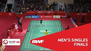 【Video】Kazumasa SAKAI VS Anthony Sinisuka GINTING, DAIHATSU Indonesia Masters 2018 finals