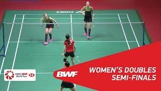 【Video】Misaki MATSUTOMO・Ayaka TAKAHASHI VS Kamilla Rytter JUHL・Christinna PEDERSEN, DAIHATSU Indonesia Masters 2018 semifinal