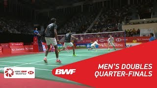 【Video】Satwiksairaj RANKIREDDY・Chirag SHETTY VS Mads CONRAD-PETERSEN・Mads Pieler KOLDING, DAIHATSU Indonesia Masters 2018 quarte