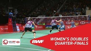 【Video】Greysia POLII・Apriyani RAHAYU VS CHAE YuJung・KIM Hye Rin, DAIHATSU Indonesia Masters 2018 quarter finals