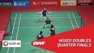 【Video】Tontowi AHMAD・Liliyana NATSIR VS ZHANG Nan・LIU Xuanxuan, DAIHATSU Indonesia Masters 2018 quarter finals