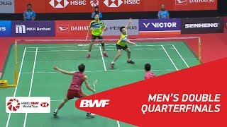 【Video】GOH V Shem・TAN Wee Kiong VS LIU Cheng・ZHANG Nan, PERODUA Malaysia Masters 2018 quarter finals