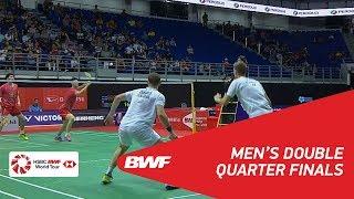 【Video】Mads CONRAD-PETERSEN・Mads Pieler KOLDING VS LI Junhui・LIU Yuchen, PERODUA Malaysia Masters 2018 quarter finals
