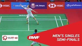 【Video】Viktor AXELSEN VS Daren LIEW, PERODUA Malaysia Masters 2018 semifinal